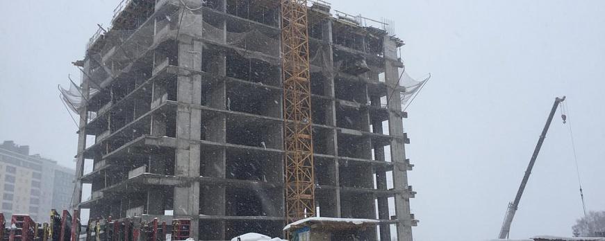 Текстовый отчёт о строительстве ЖК «Символ» на сегодняшний день