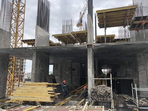 Отчет со строительной площадки ЖК «Ботаника» за февраль 2020